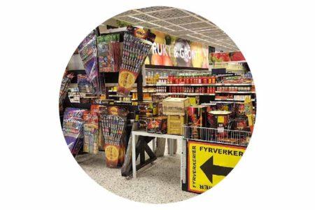 Søknad om oppbevaring av og handel med fyrverkeri (pyroteknisk vare)