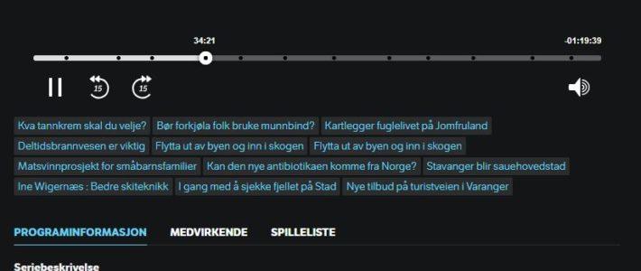 Ildsjeler fra deltidsbrannvesen i Norge – Lydklipp fra NRK P1+